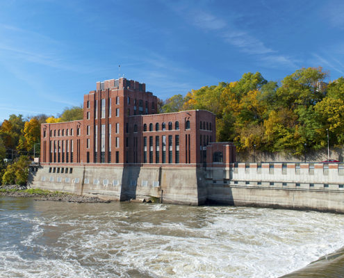 Stanley Hydraulics Lab on the Iowa River.