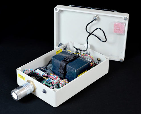 IIHR developed this cost-effective electronic stream-stage sensor.