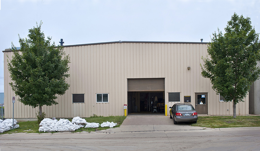 An exterior shot of IIHR's East Annex building.