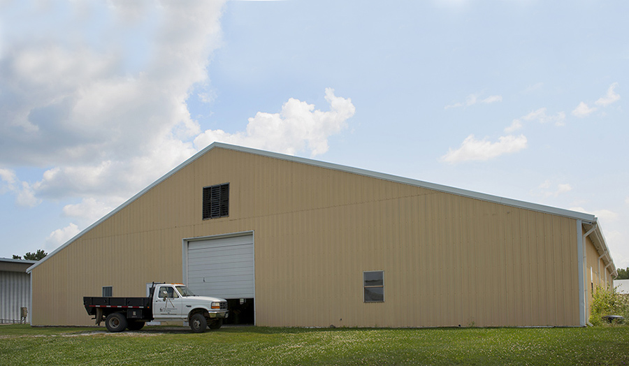 An exterior view of IIHR's Hydraulics Annex One at the Research Park.