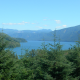 A view of Riffe Lake near the Cowlitz Falls Dam.