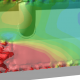 A CFD Model in rainbow colors